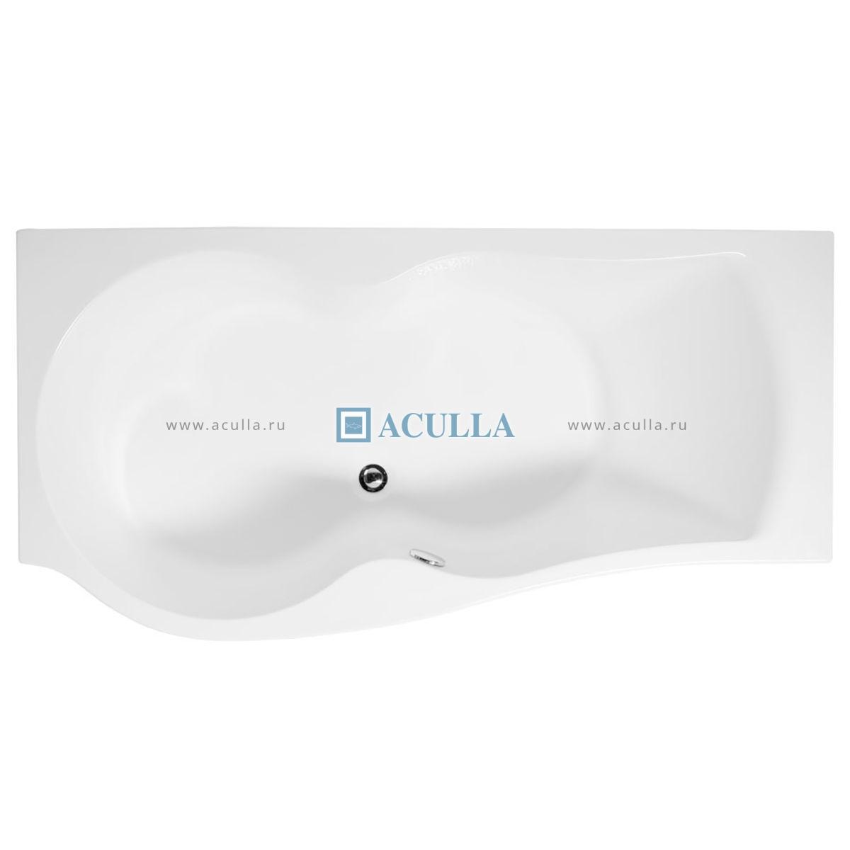 Акриловая ванна Aquanet Nicol 170x85 R Электрический полотенцесушитель Тругор ПЭК 5 с полкой Пэк 5 П 80х60 прав