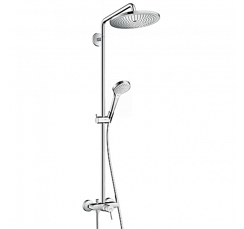 Душевой гарнитур Hansgrohe Croma Select S 280 Air 1jet Showerpipe 26791000