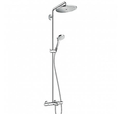 Душевой гарнитур Hansgrohe Croma Select S 280 Air 1jet Showerpipe 26792000