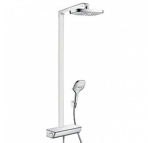 Душевой гарнитур Hansgrohe Raindance Select E 300 2jet Showerpipe 27128000