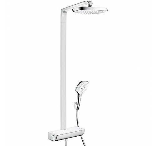 Душевой гарнитур Hansgrohe Raindance Select E 300 2jet Showerpipe 27128400